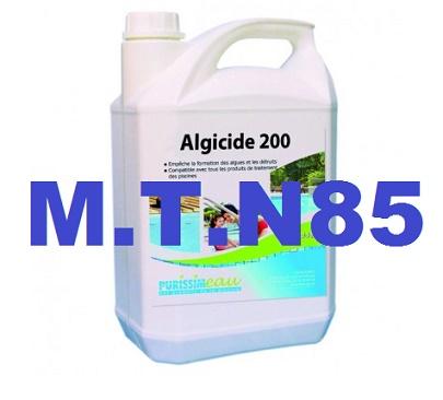 Produits par grande famille mat riels techniques de for Algicide piscine