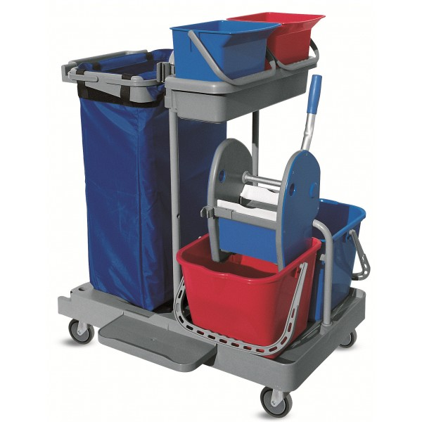 Chariot Complet De Nettoyage Mop Box 600502 Pictures to pin on ...